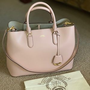 Lauren Ralph Lauren LG City Satchel ( soft pink)